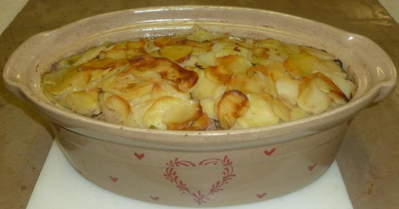 terrine de baeckeoffe aux 3 viandes et pommes de terre