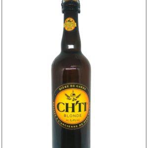 bouteille 75cl de bière blonde du Nord : la Ch'ti