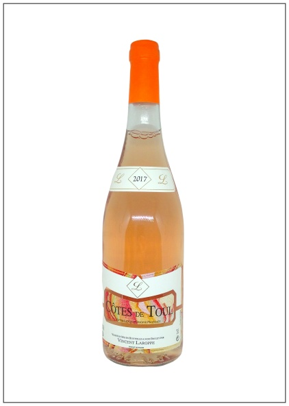 bouteille de Côtes de Toul ou plus communément appelé aussi Gris de Toul