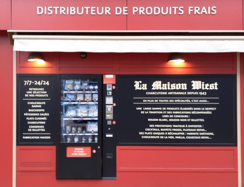 distributeur automatique 24/24 de produits frais
