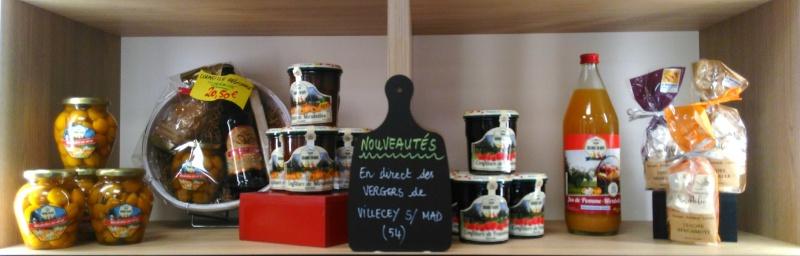 Produits lorrains : mirabelles au sirop, jus et confitures de mirabelles, berbamottes
