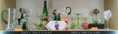 Toute le gamme de verres à vin d'Alsace