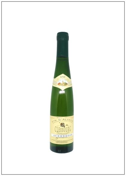 1/2 bouteille de vin d'Alsace : l'Auxerrois