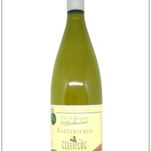 le vin servie au pichet sur les tables alsaciennes : l'Edelzwicker en bouteille d'1 litre