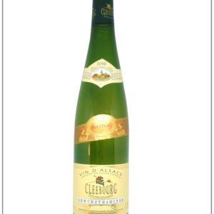 bouteille de Gewurztraminer, un vin d'Alsace fruité