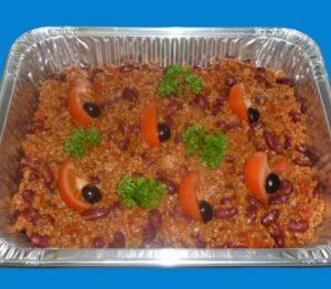 plat de chili con carne pour 6 personnes